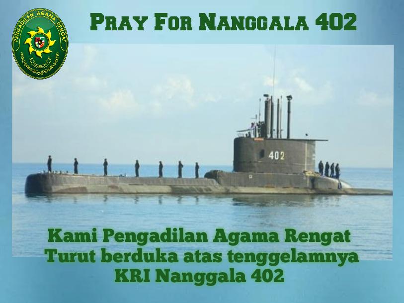 Berduka Cita atas Tenggelamnya KRI Nanggala 402